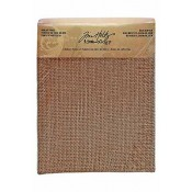 "Tim Holtz Idea-ology Burlap Panel 6"" x 8"" - TH93062"