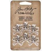 Tim Holtz Idea-ology Adornments: Crossbones - TH93089