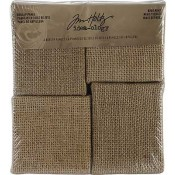Tim Holtz Idea-ology Mini Burlap Panels - TH93103