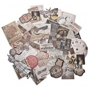 Tim Holtz Idea-ology Ephemera Pack, Thrift Shop - TH93114