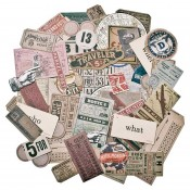 Tim Holtz Idea-ology Ephemera Pack, Expedition - TH93115