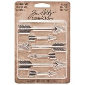 Tim Holtz Idea-ology Adornments: Arrows - TH93127
