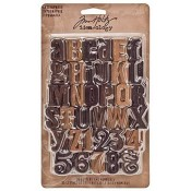 Tim Holtz Idea-ology Letterpress - TH93130