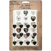 Tim Holtz Idea-ology Heart Charms - TH93132