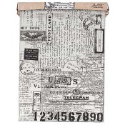 Tim Holtz Idea-ology Tissue Wrap: Postale - TH93181