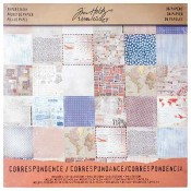 Tim Holtz Idea-ology Paper Stash: Correspondence - TH93187