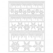 Tim Holtz Idea-ology Alpha Parts: Frozen - TH93328