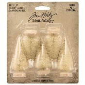 Tim Holtz Idea-ology Woodland Small Tree Lot - TH93638