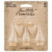 Tim Holtz Idea-ology Woodland Mini Tree Lot - TH93639
