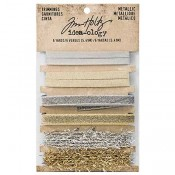 Tim Holtz Idea-ology Metallic Trimmings - TH93338