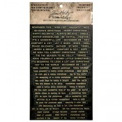 Tim Holtz Idea-ology Metallic Stickers: Holiday Talk - TH93642