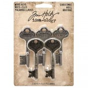 Tim Holtz Idea-ology Word Keys: Christmas - TH93348