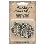 Tim Holtz Idea-ology Adornments: Wreaths - TH93349