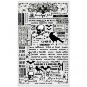 Tim Holtz Idea-ology Remnant Rubs: Halloween - TH93604