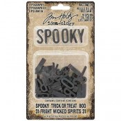 Tim Holtz Idea-ology Typography: Halloween - TH93611