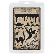 Tim Holtz Idea-ology Halloween Foam Stamps - TH93617