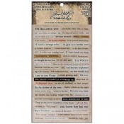 Tim Holtz Idea-ology Clipping Stickers: Halloween - TH93719