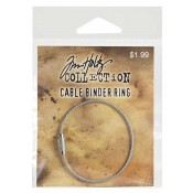 Tim Holtz Cable Binder Ring - THCBR