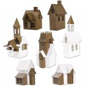 Sizzix Thinlits Die Set: Village Collection 665564