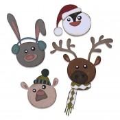 Sizzix Thinlits Die Set: Winter Critters 664752
