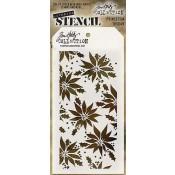 Tim Holtz Layering Stencil - Poinsettia THS049