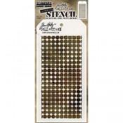 Tim Holtz Layering Stencil - Grid Dot THS083