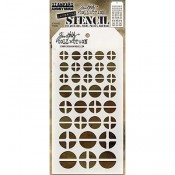 Tim Holtz Layering Stencil - Screwed THS087