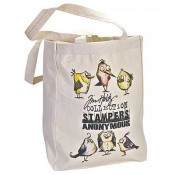 Stampers Anonymous Tote Bag Bird Crazy - TOTEBC