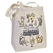 Stampers Anonymous Tote Bag - Crazy Cats