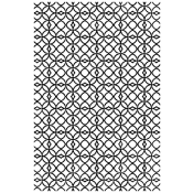 Tim Holtz Wood Mounted Stamp - Lattice X1-2827
