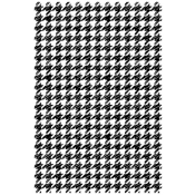 Tim Holtz Wood Mounted Stamp - Houndstooth X1-2828