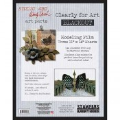 Studio 490 Wendy Vecchi - Clearly for Art Blackout, Large WVCLRBLKLG