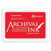 Wendy Vecchi Archival Ink Pad - Carnation Red AID41399