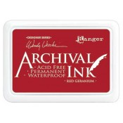 Wendy Vecchi Archival Ink Pad - Red Geranium AID38993