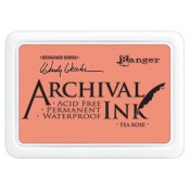 Wendy Vecchi Archival Ink Pad - Tea Rose AID45663