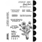 Wendy Vecchi Cling Mount Stamps - Art From Us SCS143