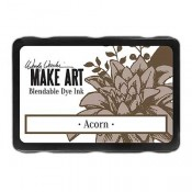 Wendy Vecchi, MAKE ART, Blendable Dye Ink pad, acorn, WVD62561, brown ink pad, brown blendable ink