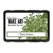 Wendy Vecchi, MAKE ART, Blendable Dye Ink Pad, Fern Green, WVD62592, green bendable ink pad
