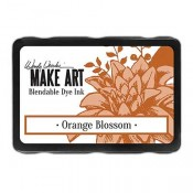 Wendy Vecchi MAKE ART Blendable Dye Ink Pad: Orange Blossom - WVD62615