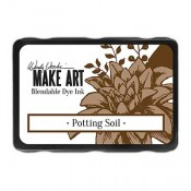 Wendy Vecchi MAKE ART Blendable Dye Ink Pad: Potting Soil - WVD64367