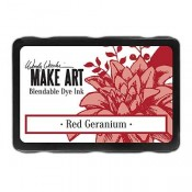 Wendy Vecchi MAKE ART Blendable Dye Ink Pad: Red Geranium - WVD62646
