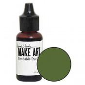 Wendy Vecchi MAKE ART Blendable Dye Ink Reinker: Fern Green WVR62714