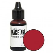 Wendy Vecchi MAKE ART Blendable Dye Ink Reinker: Red Geranium WVR62769