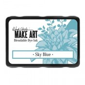 Wendy Vecchi MAKE ART Blendable Dye Ink Pad: Sky Blue - WVD64374