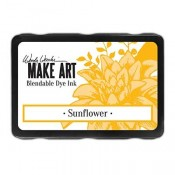 Wendy Vecchi MAKE ART Blendable Dye Ink Pad: Sunflower - WVD62653