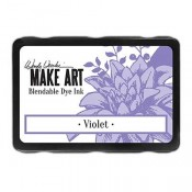 Wendy Vecchi, MAKE ART, Blendable Dye Ink Pad, Violet, WVD62660, purple ink pad, violet blendable ink pad