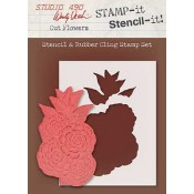 Wendy Vecchi STAMP-it Stencil-it: Cut Flowers WVSTST029