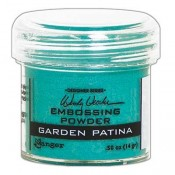 Wendy Vecchi Embossing Powder: Garden Patina - WEP49050