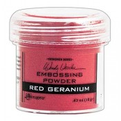 Wendy Vecchi Embossing Powder: Red Geranium - WEP43911