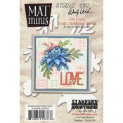 Wendy Vecchi Mat Minis: Fresh Flowers & Leaves WVMM018